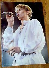 David Bowie In Concert Poster Nice Vintage 1981