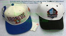 Retro Broncos Logo SIGNED Baseball Cap Gary Zimmerman Bill Musgrave Oregon Ducks