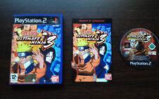 Naruto Ultimate Ninja 3 Play Station 2 PS2 PAL