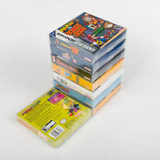 10x Game Cartridge Cover Case for Nintendo Game boy GBA CIB Boxed Game Protector