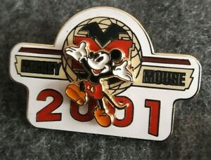 DISNEY PIN -  WDW MICKEY MOUSE 2001 - RELEASED JANUARY 2002