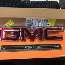 OEM GM FRONT GRILLE GMC BADGE EMBLEM 2007-2014 SIERRA 2007-2015 ACADIA 22761717