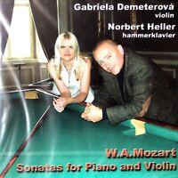 NEW SEALED CD GABRIELA DEMETEROVA MOZART-SONATAS FOR VIOLIN & PIANO,VOL.II 2004
