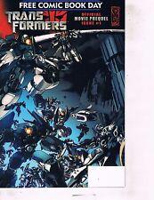 Lot Of 3 Comic Book Comic Day Transformers, Entertaining Sampler, JungleGirl AB7