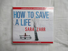 How to save a life Sara Zarr Unabridged audiobook on 10CDs