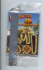 Madagascar 3D Buildables Melman Promo Card MINT Bagged