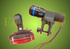 CREE - LED Fahrradbeleuchtung Fahrradlampe+Rücklicht Set mit FOCUS ZOOM