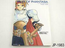 Tales of Phantasia Illustrations Japanese Artbook Japan Book Origin + Tribute