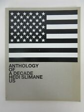 Heidi Slimane: Anthology of A Decade US - JRP Ringier 2011 large paperback