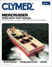 CLYMER MERCRUISER GM V8 409 INBOARD OUTBOARD REPAIR SERVICE SHOP MANUAL 64-85
