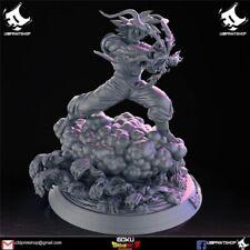 Dragon Ball Goku Unpainted Figure Blank Kit Model Resin GK 25cm Hot Toy Stock