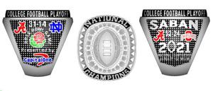 2020 ALABAMA NATIONAL PLAYOFF NCAA Football Championship Ring
