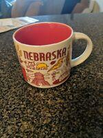 Starbucks Coffee Mug Nebraska Been There Series Across The Globe Collection 2019