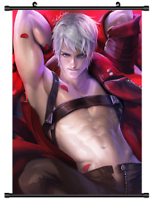 4190 Anime Devil May Cry Dante Home Decor Poster Wall Scroll cosplay A