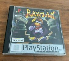 Rayman Sony Playstation 1 PS1 Game Complete with manual