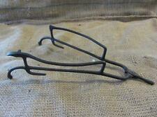 Vintage1875 Cast Iron Multi-Tool Tongs > Antique Old Farm Kitchen Kettle 9688