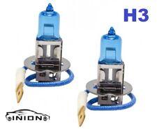 2 x h3 55w Blue Xenon halogen temperatura 8500k cruce auto lámparas set lámpara