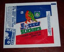 Topps Soccer Stickers  wax pack wrapper NASL1979 Sticker Poster   AD