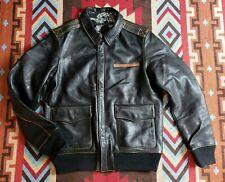 Number (N)ine Number N ine Type A-2 Military Bomer Leather Jacket Visvim Japan