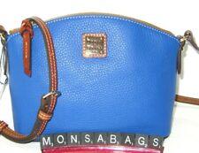 Dooney & Bourke French Blue Pebble Grain Leather Ruby Crossbody Bag NWT $158