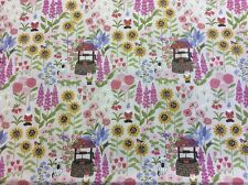Lewis And Irene - Grandma's Garden Col:2 D#A195 - 100% Cotton By 1/4 Metre
