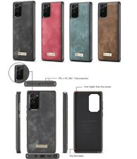 CaseMe Retro Back cover Leather Case for Samsung Note 20 S20 S10 5G Plus Ultra
