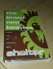 The Brand New Heavies Snippets From Shelter Rare promo cassette tape Delicious