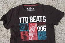 Tom Tailor T-Shirt Herren Größe S - TTD Beats Musik - Schwarz - Shirt H29