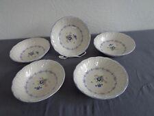 Nikko Vanessa Blue Peony  5 Dessertschalen Ø 14cm, H.3,3cm Salatschälchen