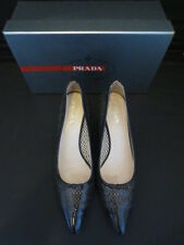 Prada zapatos Shoes charol óptica 38 pumps