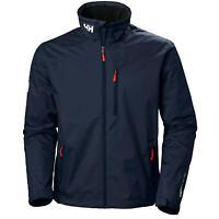 New Mens Waterproof Sailing Helly Hansen Mid Layer Navy Blue Jacket £140