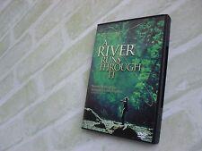 A RIVER RUNS THROUGH IT - BRAD PITT - REGION 1 DVD