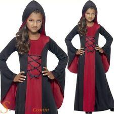 filles à capuche gothique vampire Costume enfant enfants costume halloween