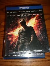 BATMAN: THE DARK NIGHT RISES - DVD/BLU-RAY/SPECIAL FEATURES - GOOD CONDITION!
