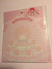 Sanrio Original Vintage Classic Letter Set My Melody Dessert Paper Strawberry