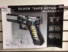 2001 Glock 17 Exploded View Poster Parts, Pieces & Their Placement!Stored Flat