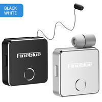 Fineblue F1 Wireless Bluetooth 5.0 Headset Vibrating Earphone Headphone Stereo Q