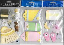 BABY GIRL # 1** 6 PACKS OF EMBELLISHMENTS- JOLEE'S, PAPER BLISS, LAURA ASHLEY