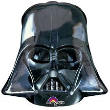 Star Wars Party Supplies Dareth Vader Helmet Super Shape Foil Balloon