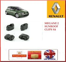 Renault Megane sunroof repair kit X 4 / 4 pieces sunroof clips