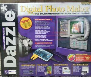 Dazzle Digital Photo & Video Maker, External USB Version, Windows 98