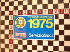 1975 CTI VETRO ADESIVI FIAT 500 126 127 128 131 1124 125 BERTONE ALFA ROMEO