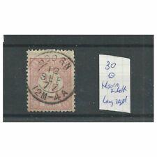 """Nederland 30 """"HOORN 1877"""" tweeletter  Lange Slag VFU/gebr  CV 25++€"""
