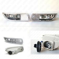Fog Light Kit Set For 2003-2004 Toyota Corolla Clear Lens with Switch Bulbs Wire