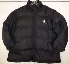 GENTLY WORN BEVERLY HILLS POLO CLUB MEN'S PUFFER JACKET IN GOOD CONDITION !