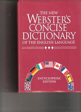 NEW The New Webster's Concise Dictionary of the English Language: Encyclopedic E
