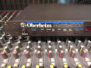 Oberheim Matrix 1000 Analogue Synthesiser