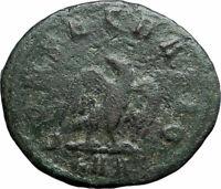 DIVUS CARUS Authentic Ancient 283AD Rome Original Roman Coin EAGLE i79365