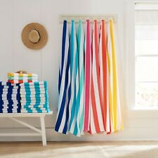 """28""""x 60"""" Striped Cabana Beach Towels, Mainstays Assorted Colors, Set of 4"""