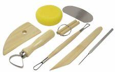 8pc Pottery Clay Molding Sculpting Tools Set